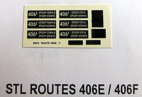 STL Route 406E /406F
