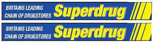 SIDE ADVERTS SUPERDRUG