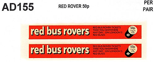 Red Rovers 50p