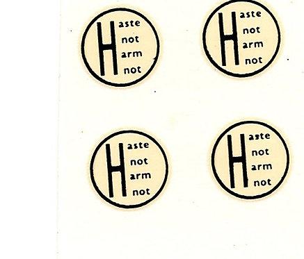 Haste Not