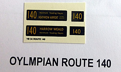 Olympian Route 140