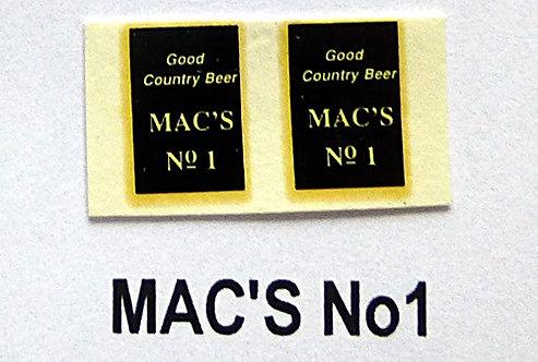Mac's No1