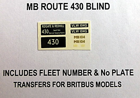 MB Route 430 (MB104)