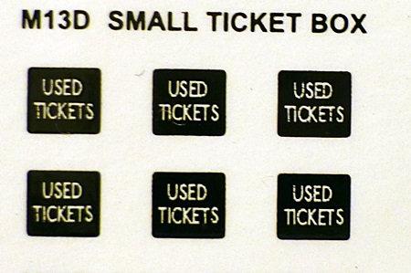TICKET BOX TRANSFERS SMALL