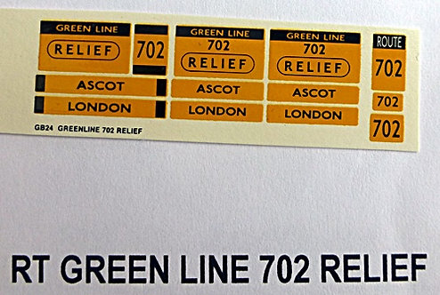 RT Green Line Blinds Route 702