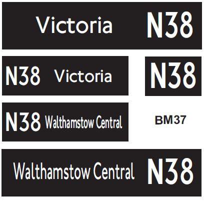 New LT (Borismaster)  Route N38