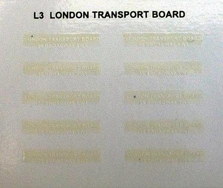 Legal Lettering  L.T.B.