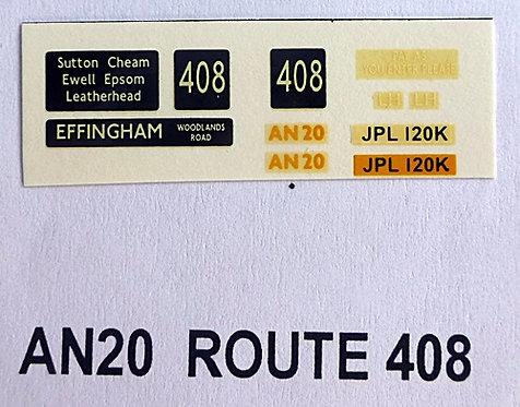 AN Route 408 (AN20)