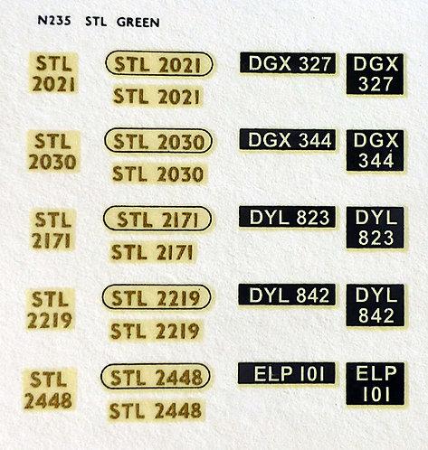 Gold STL2021, STL2050, STL2171, STL2219, STL2448