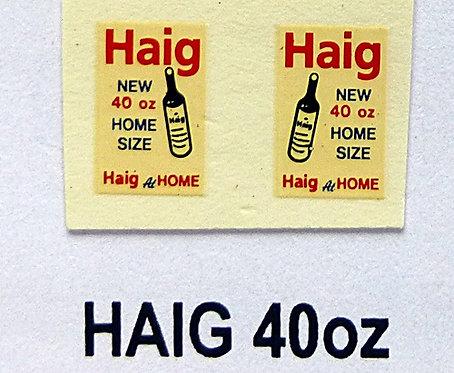 Haig 40oz
