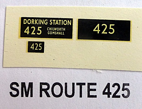 SM / SMS Route 425