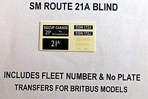 SMS Route 21A (SMS172)
