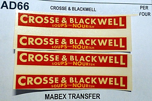 Crosse & Blackwell (MABEX)