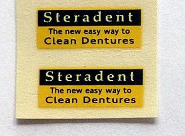Steradent Clean Dentures