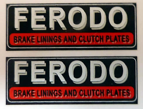 FERODO LARGE REAR ADVERT (RLH)