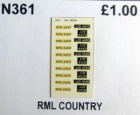 Gold RML2447, RML2449, RML2452, RML2453, RML2455