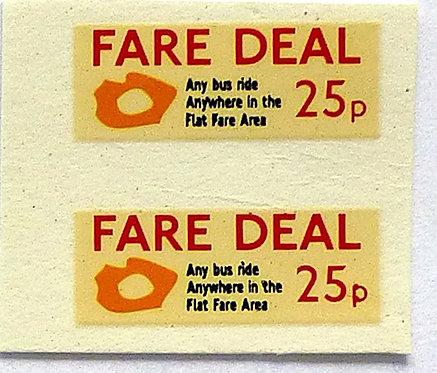 Fare Deal 25p