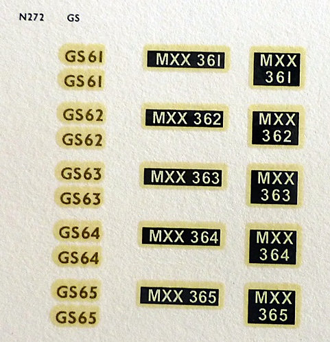 Gold GS61, GS62, GS63, GS64, GS65
