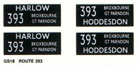GS Route 393