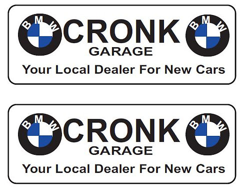 LOWER REAR ADVERTS CRONK