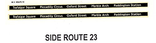 Side Route Branding RM - RML  Route 23