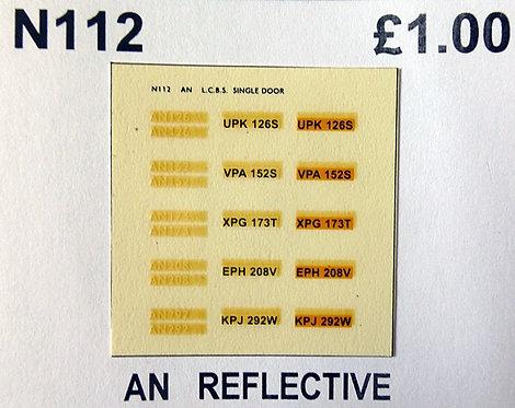 White AN126, AN152, AN173, AN208, AN292