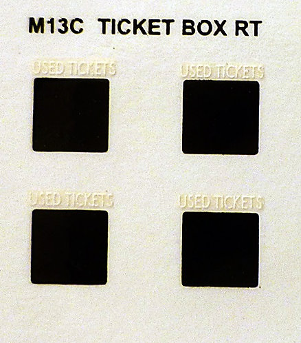 TICKET BOX TRANSFERS RT