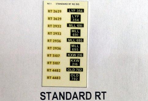 Gold RT2629, RT293,2, RT2936, RT3107, RT4482