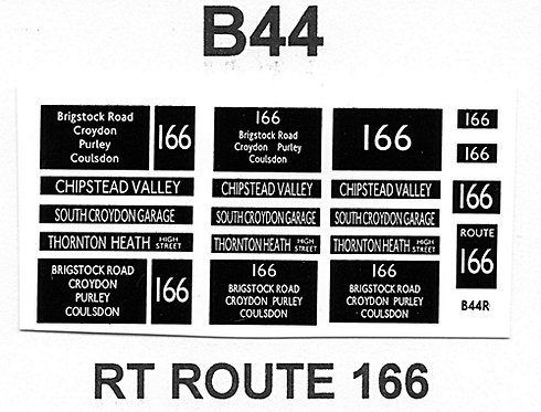 RT Route 166