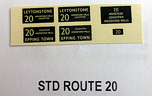 STD Route 20