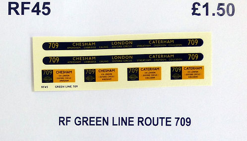 Green Line RF Route 709 (1950's)