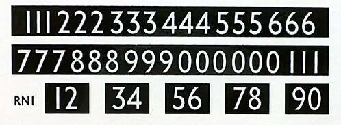 Route Numbers for L.T. buses