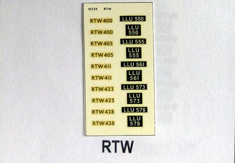 Gold RTW400, RTW405, RTW411, RTW423, RTW428