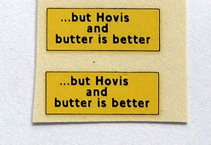 But Hovis