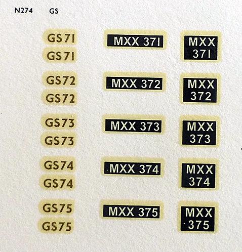 Gold GS71, GS72, GS73, GS74, GS75