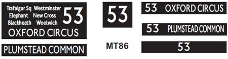 New M / T  Blinds Route 53