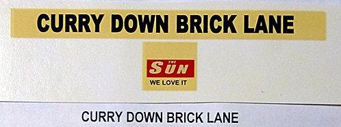 Curry Down Brick Lane