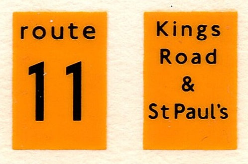 Front Route Branding RM  Route 11