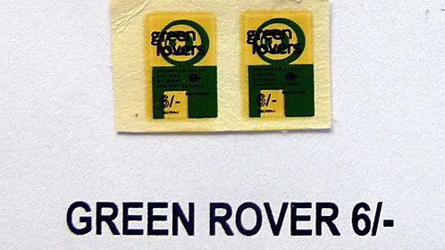 Green Rover 6/-