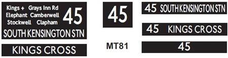 M / T   Route 45