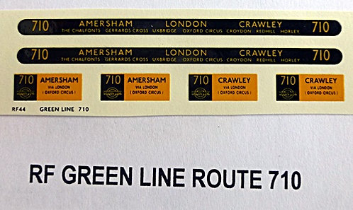 Green Line RF Route 710 (1950's)