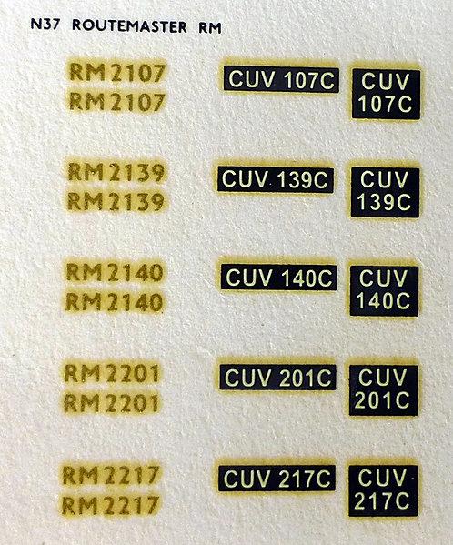 Gold RM2107, RM2139, RM2140, RM2201, RM2217