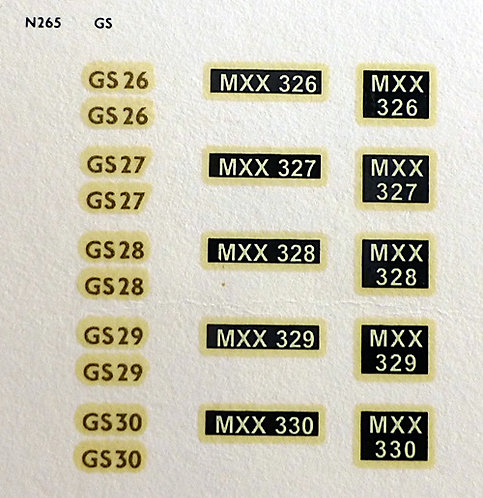 Gold GS26, GS27, GS28, GS29, GS30