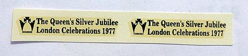 Fleet Names  Silver Jubilee