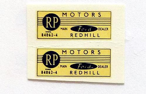 RP Motors Redhill