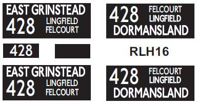 NEW RLH Blinds Route 428