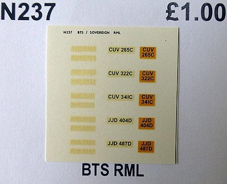 White RML2265, RML2322, RML2341, RML2404, RML2487