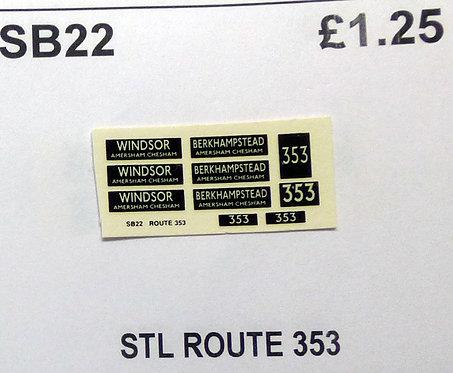 STL Route 353