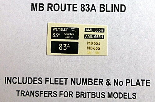 MB Route 83A (MB655)