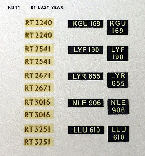 Gold RT2240, RT2541, RT2671, RT3016, RT3251